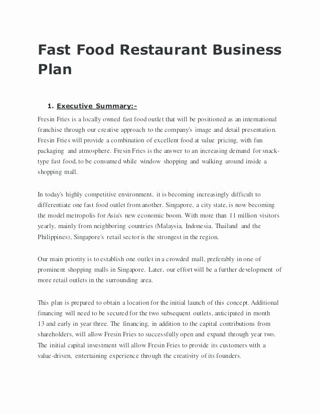 Franchise Business Plan Template Awesome Franchise Business Plan Template Pdf Telephone Business