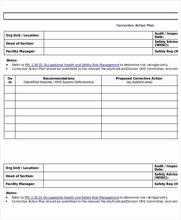 Free Action Plan Template Best Of Action Plan Templates 9 Free Word Pdf Documents