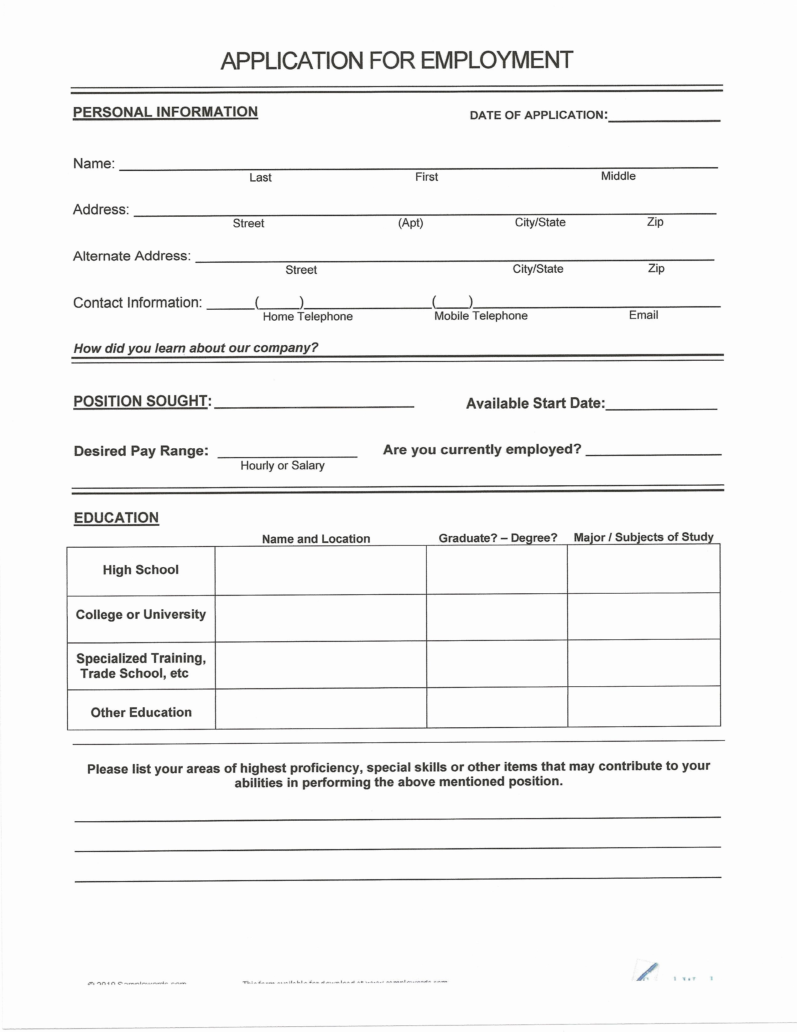 Free Blank Will forms Awesome Unique Free Printable Last Will and Testament Blank forms
