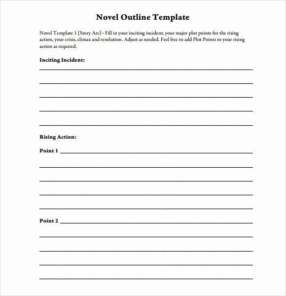 Free Book Writing Template Best Of Story Outline Template 9 Download Free Documents In Pdf