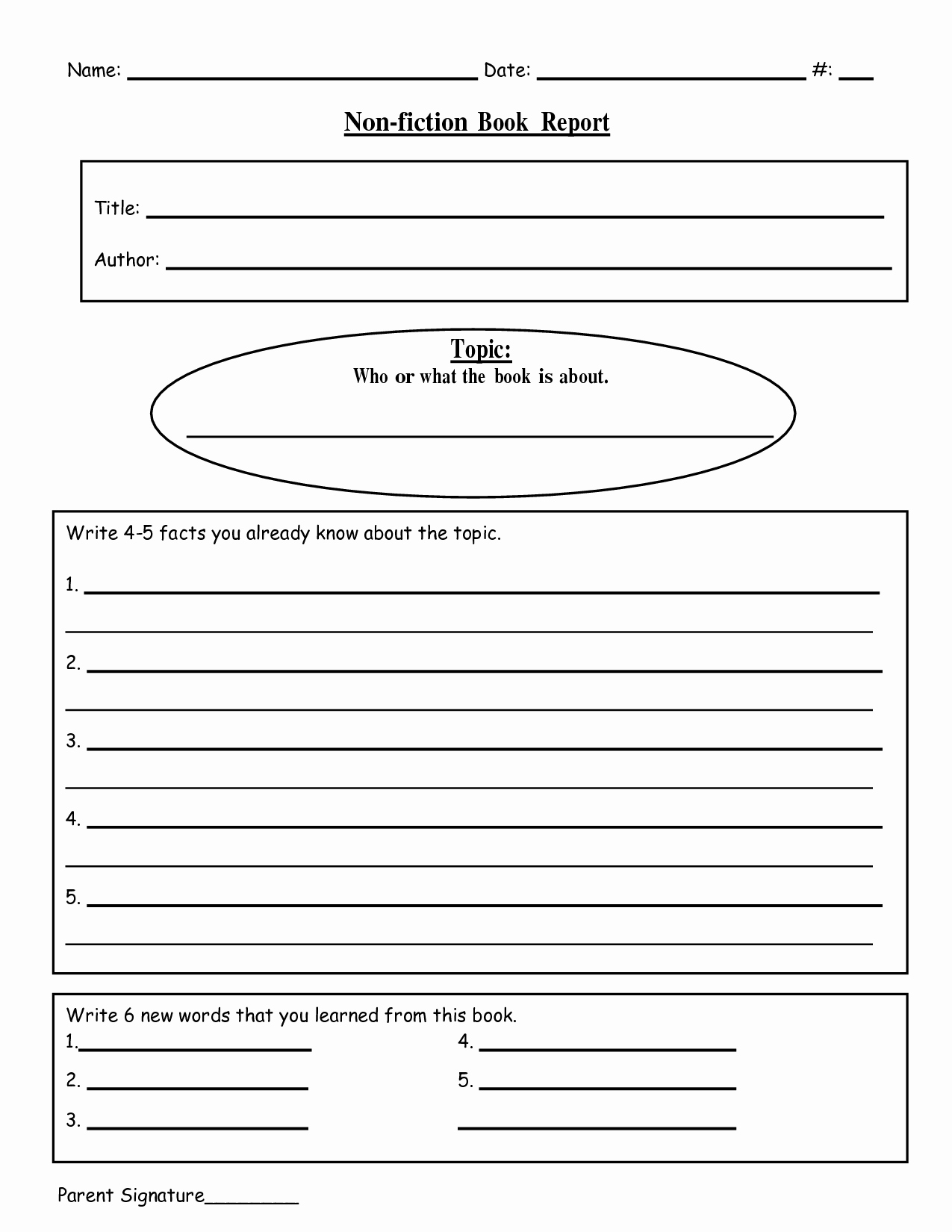 Free Book Writing Template Lovely Free Printable Book Report Templates