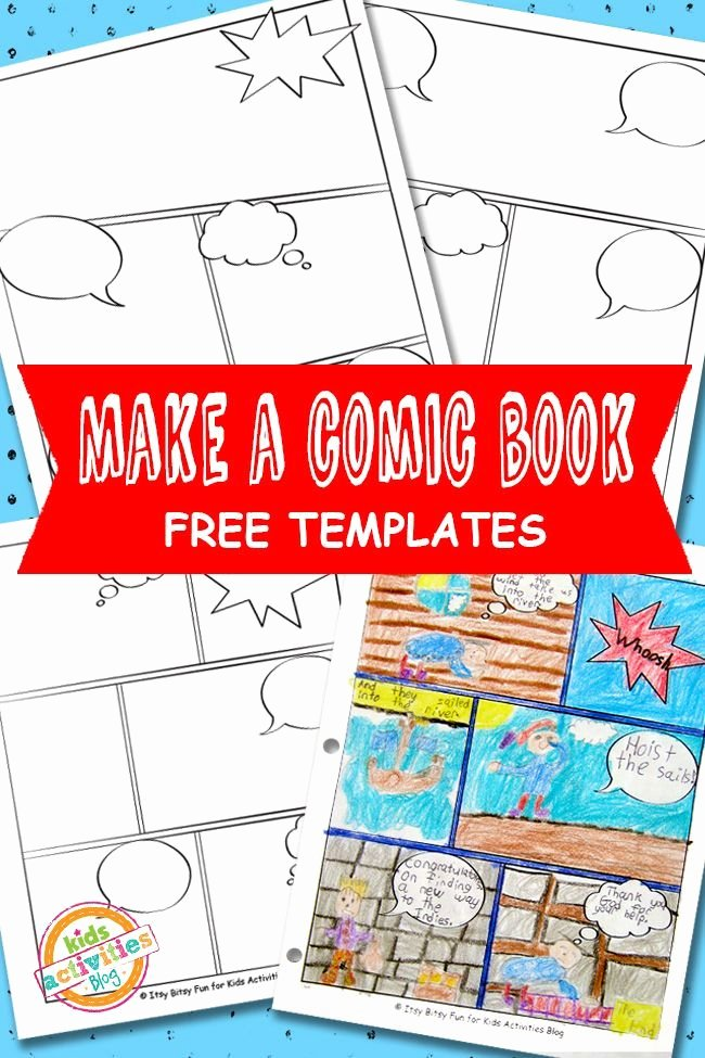 Free Book Writing Template Luxury Ic Book Templates Free Kids Printable