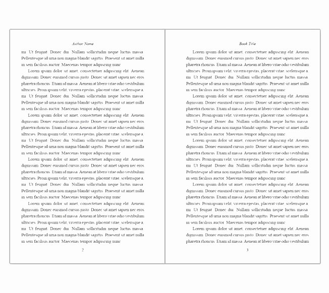 Free Book Writing Template Unique 9 Free Book Writing Templates for Word Fetuu