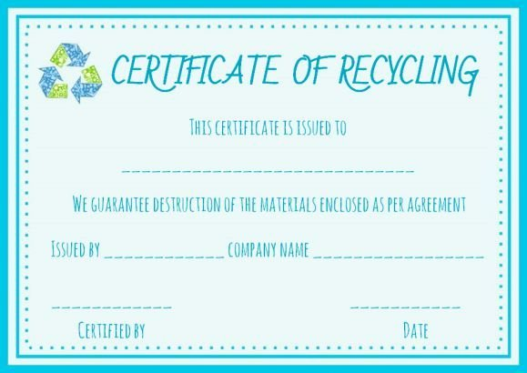 Free Certificate Of Destruction Template Inspirational Certificate Of Destruction Hard Drive Template