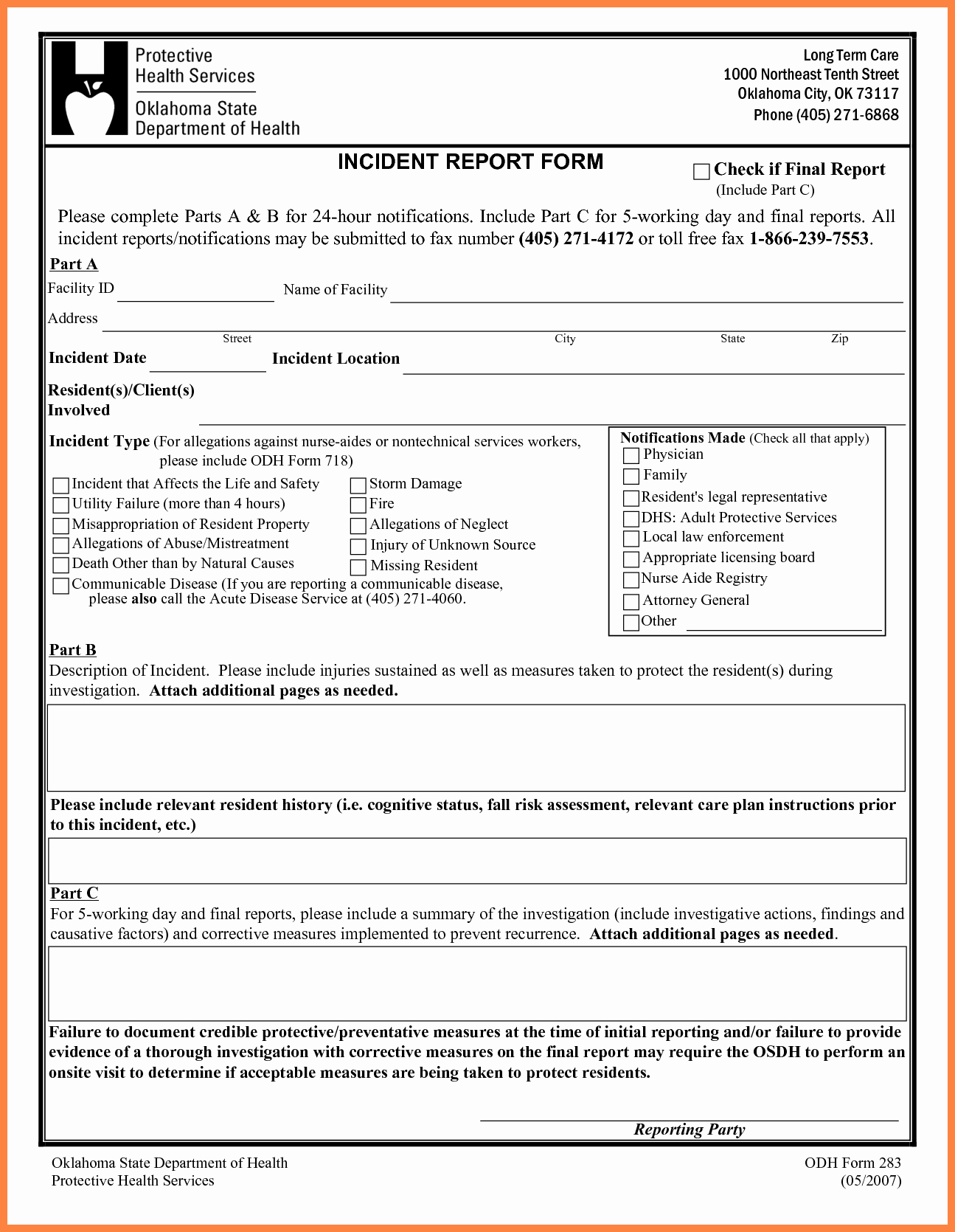 Free Church Security Plan Template Best Of 4 Security Incident Report Template Word