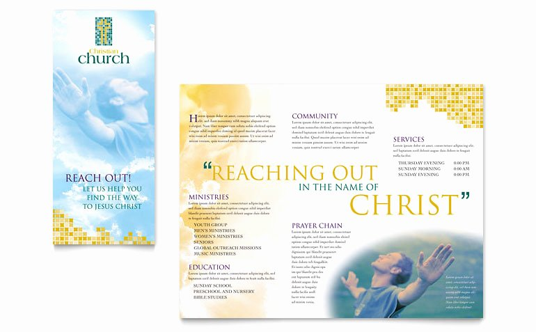 Free Church Security Plan Template Lovely Christian Church Brochure Template Word & Publisher