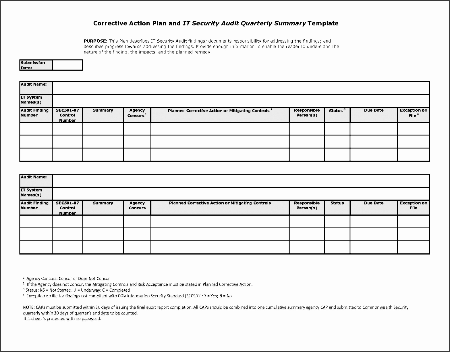 Free Corrective Action Plan Template Unique 5 Printable Action Plan Sampletemplatess Sampletemplatess