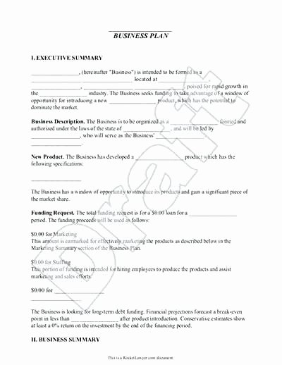 Free Dispensary Business Plan Template Awesome Full Business Plan Template Sample Business Plan Document