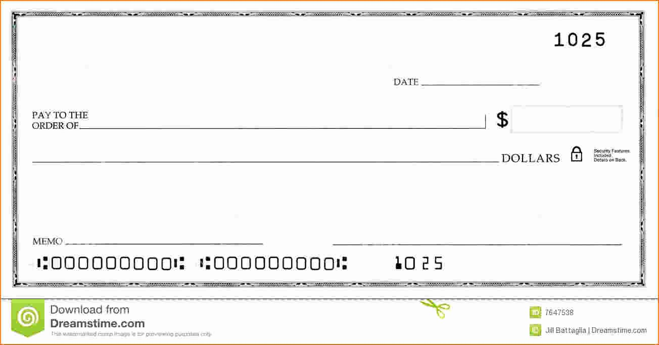 Free Editable Cheque Template Best Of Blank Business Check Template
