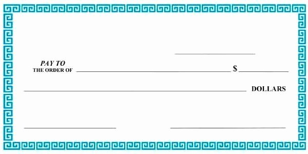 Free Editable Cheque Template Fresh Giant Check Template Editable Download