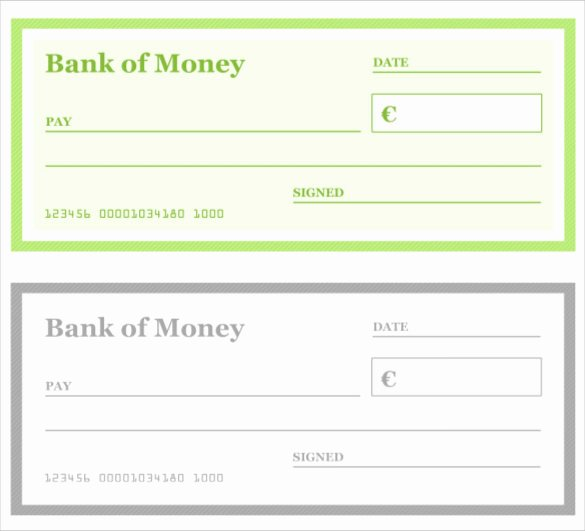 Free Editable Cheque Template New Blank Check Template – 30 Free Word Psd Pdf & Vector