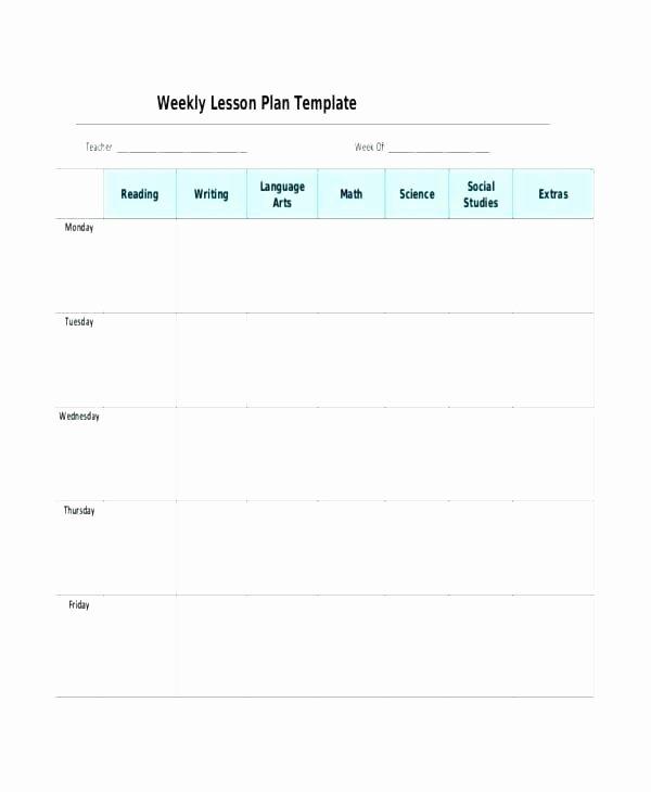 Free Editable Lesson Plan Template Luxury Editable Lesson Plan Template High School Lesson Planet