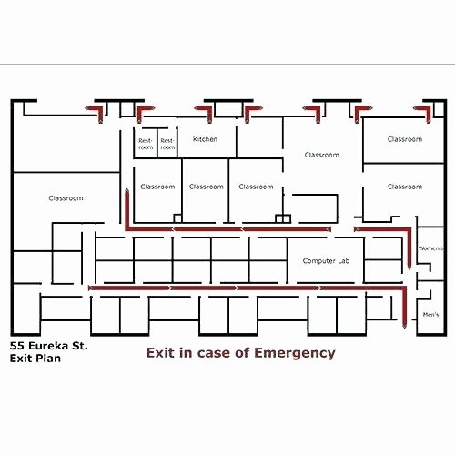 Free Evacuation Floor Plan Template Beautiful We Draw Emergency Evacuation Maps Fire Escape Plan