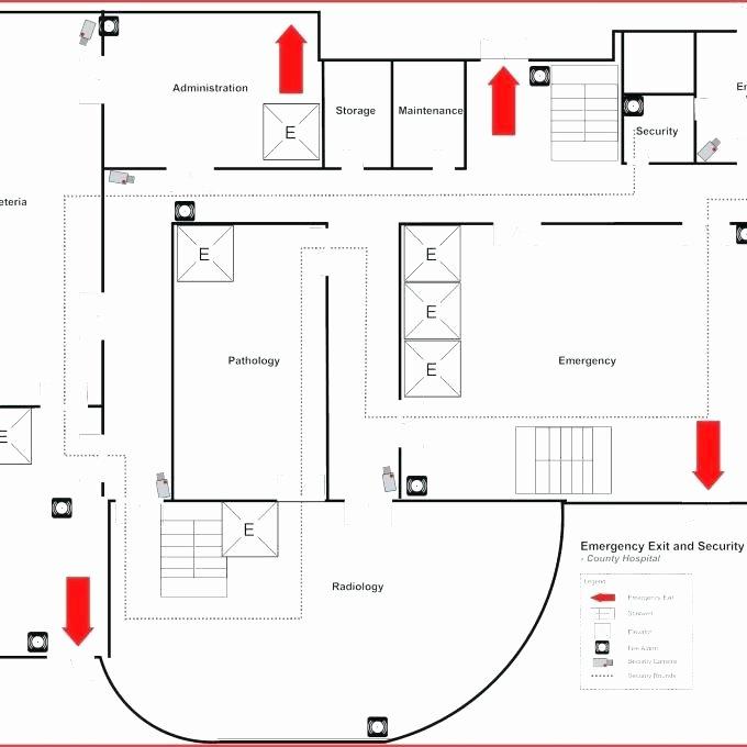 Free Evacuation Floor Plan Template Best Of Emergency Exit Floor Plan Template Emergency Exit Floor