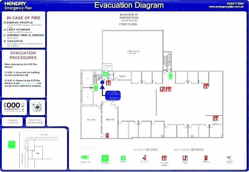 Free Evacuation Floor Plan Template Best Of Fire Evacuation Floor Plan Requirements Floor Plan Ideas