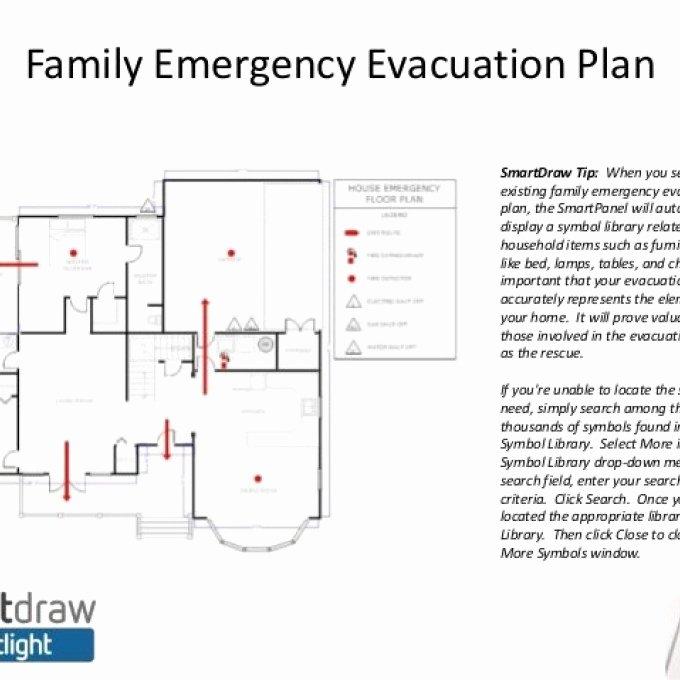 blank emergency evacuation floor plan