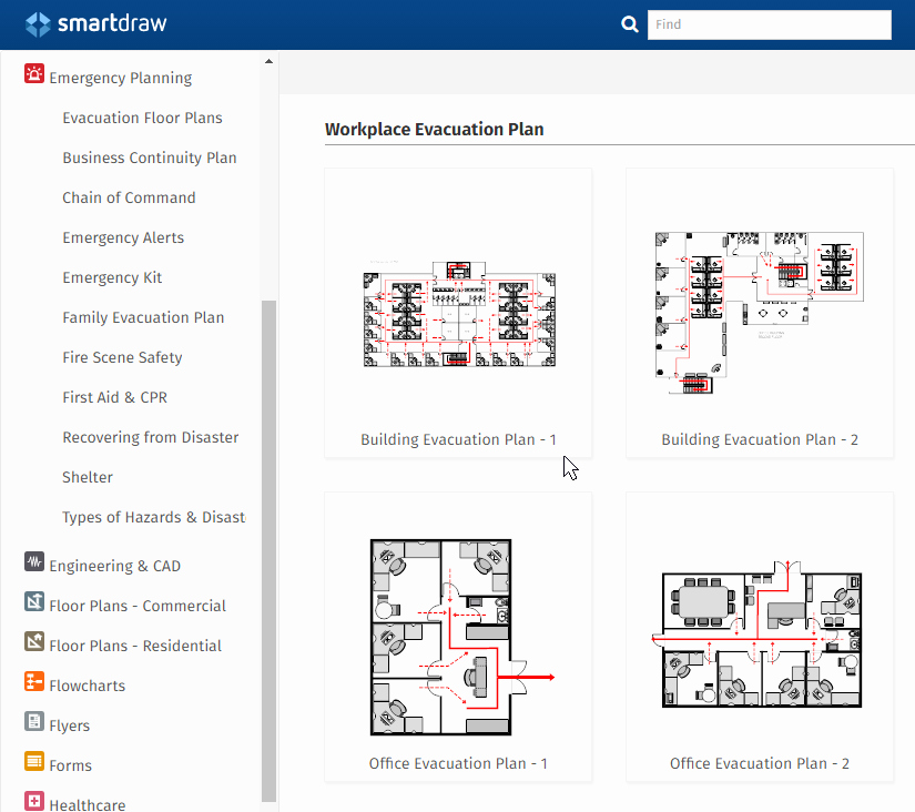 Free Evacuation Floor Plan Template Fresh Emergency Plan software Make Free Escape Plans & Fire