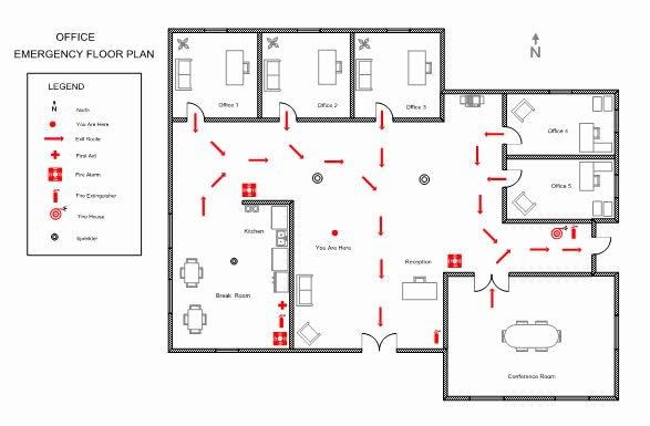 Free Evacuation Floor Plan Template Fresh Evacuation Floor Plan Sample Templates Resume Examples