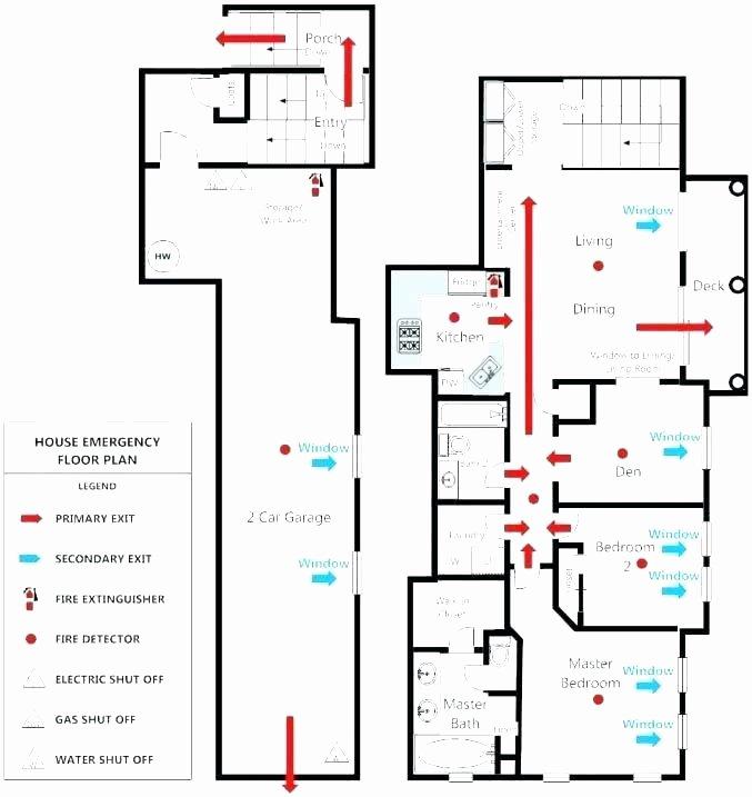 Free Evacuation Floor Plan Template Fresh We Draw Emergency Evacuation Maps Fire Escape Plan