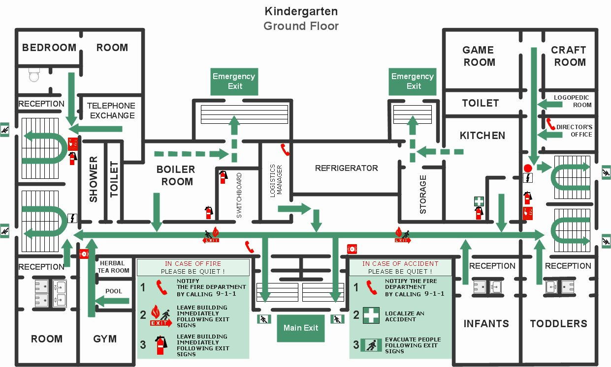 Free Evacuation Floor Plan Template Inspirational Emergency Evacuation Floor Plan Template Templates