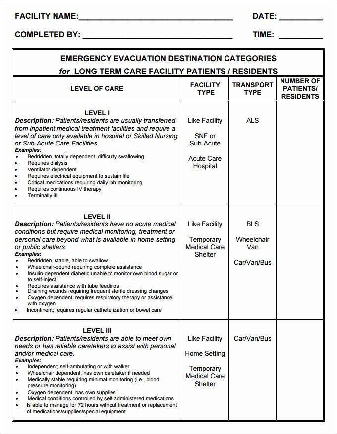 Free Evacuation Floor Plan Template Unique Home Emergency Plan Template Petaduniafo