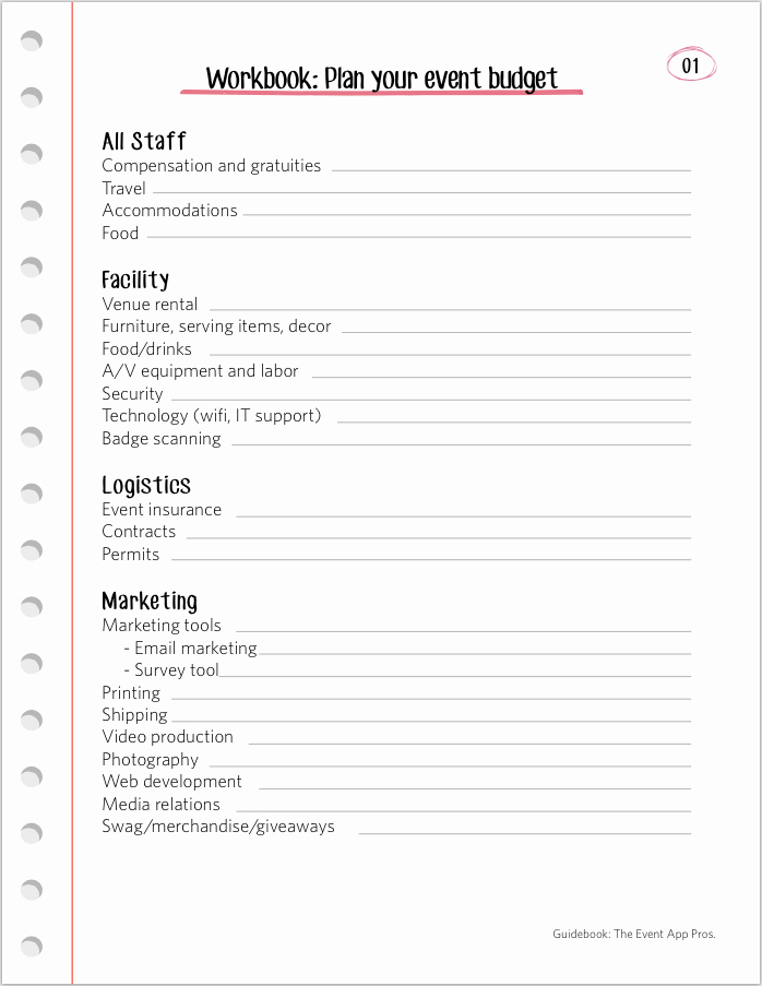 Free event Plan Template Best Of We Found All the Best event Bud Templates