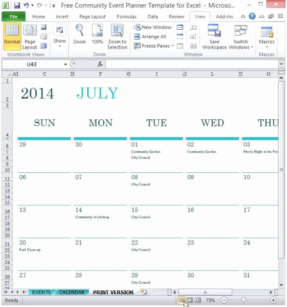 Free event Plan Template Fresh Free event Schedule Calendar Template Programs