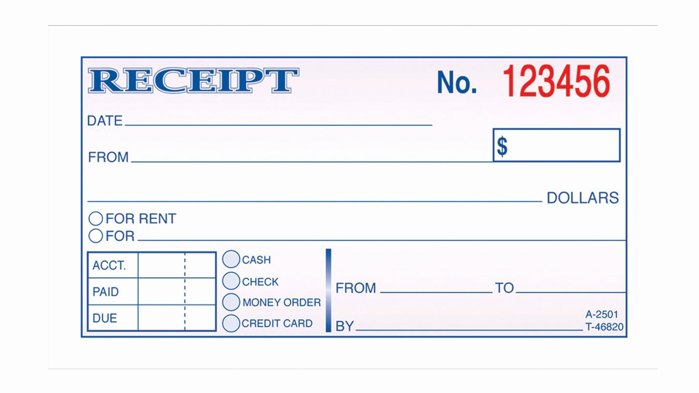 Free Fillable Rent Receipt Unique Fillable Rent Receipt Template Handy Free Generic