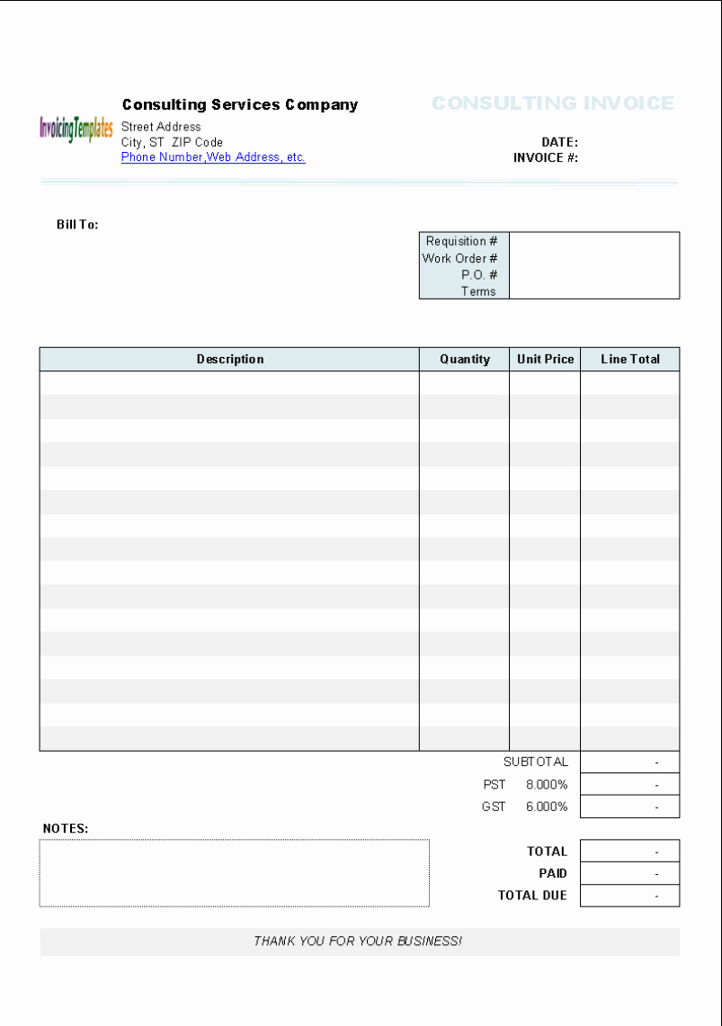 Free Invoice Template for Mac Luxury Invoice Template Word Mac