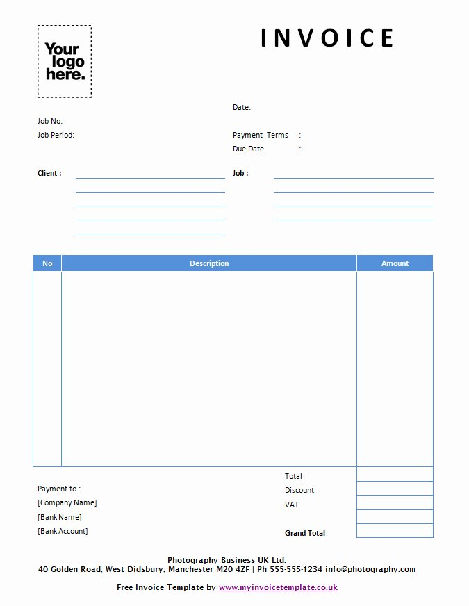 Free Invoice Template for Mac New Free Invoice Template Uk Mac