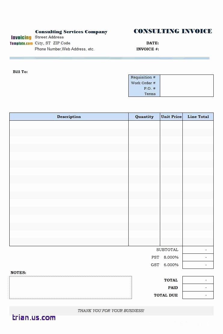Free Invoice Template for Mac Unique Simple Excel Invoice Template Mac