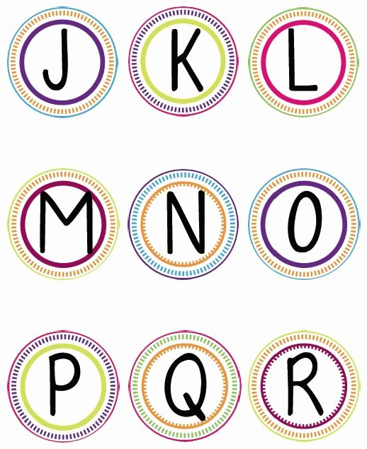 Free Letter Templates for Bulletin Boards Awesome Free Printable Letters for Bulletin Boards