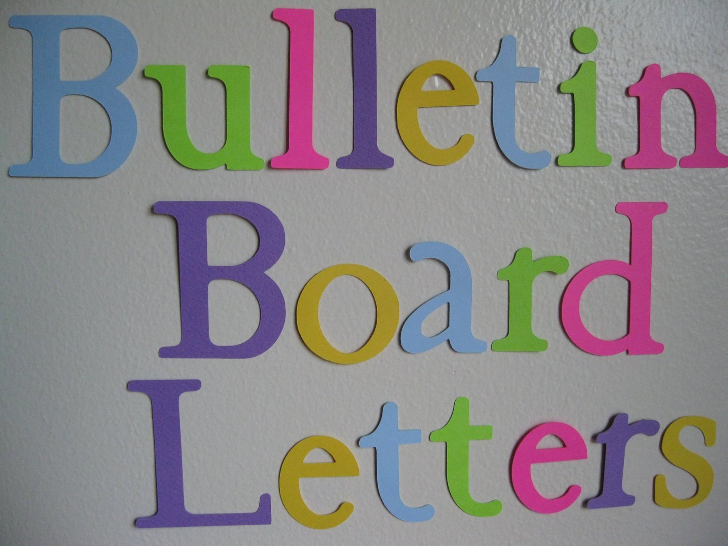 Free Letter Templates for Bulletin Boards Elegant 20 30 Die Cut Letters Bulletin Board Letters
