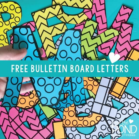 Free Letter Templates for Bulletin Boards Fresh Best 25 Bulletin Board Letters Ideas On Pinterest