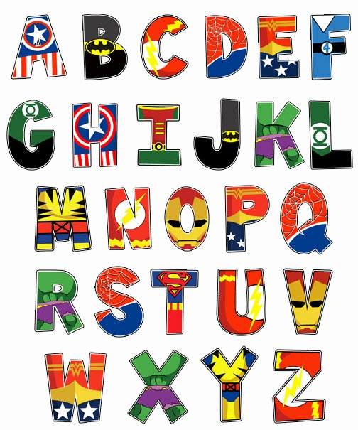Free Letter Templates for Bulletin Boards Inspirational 30 Superhero Ideas On Etsy the Scrap Shoppe