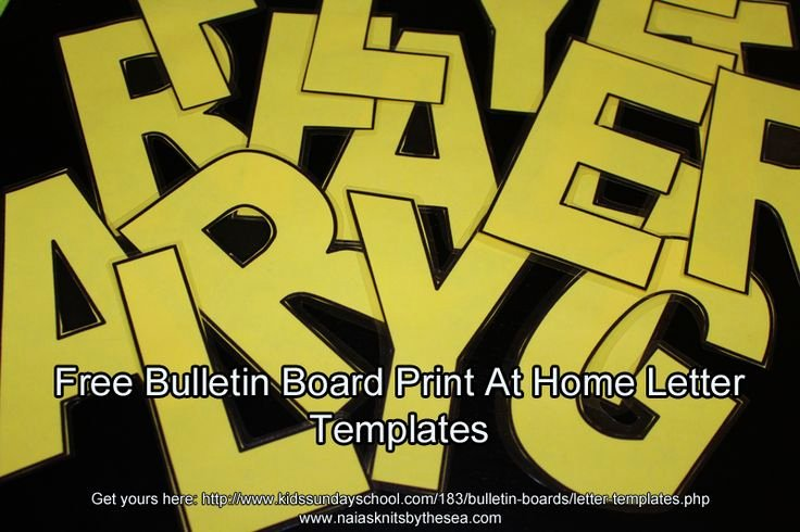 Free Letter Templates for Bulletin Boards Lovely Free Letter Templates and Other Bulletin Board Goo S