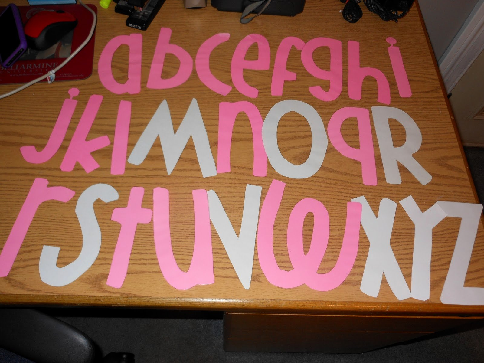 Free Letter Templates for Bulletin Boards Lovely Tales In Third Grade Font Stencils for Bulletin Boards