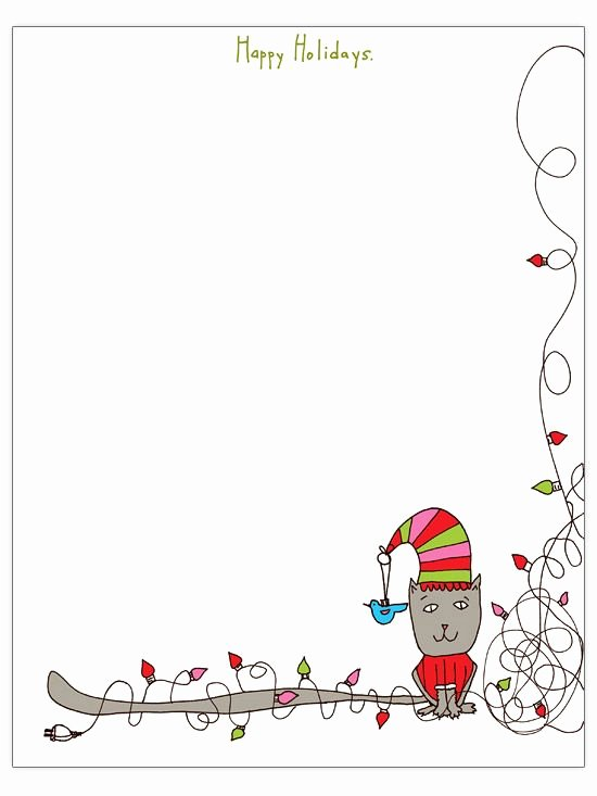 Free Letter Templates for Bulletin Boards Luxury Free Christmas Letter Templates