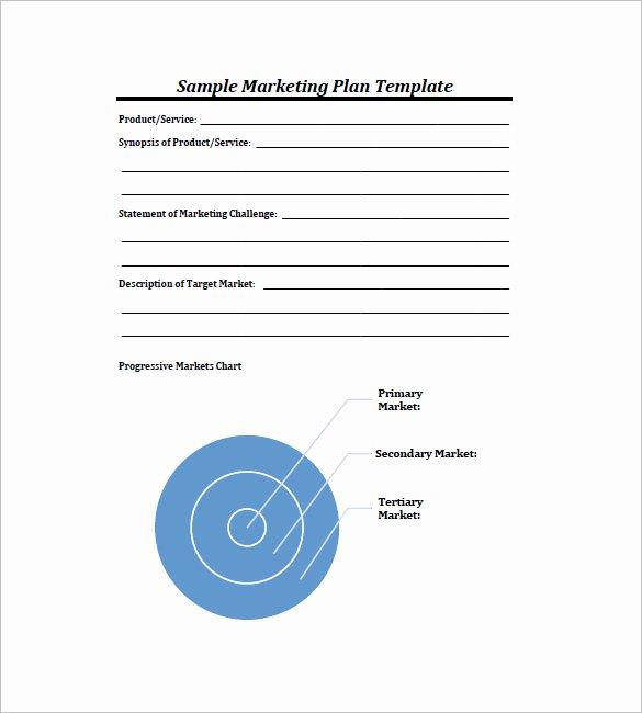 Free Marketing Plan Template Word Beautiful 19 Simple Marketing Plan Templates Doc Pdf