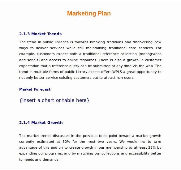 Free Marketing Plan Template Word Beautiful 22 Microsoft Word Marketing Plan Templates