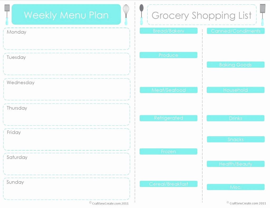 Free Menu Plan Template Luxury 30 Minute Challenge Weekly Meal Planning 24 7 Moms