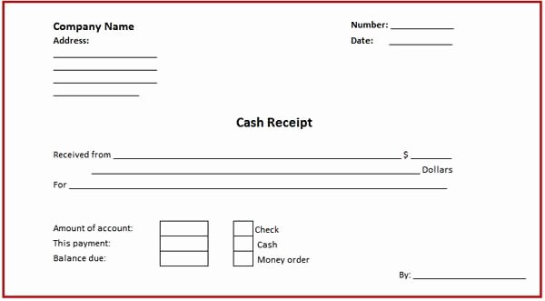 Free Online Payment form Luxury Free Receipt form and Template for Handling Cash Money