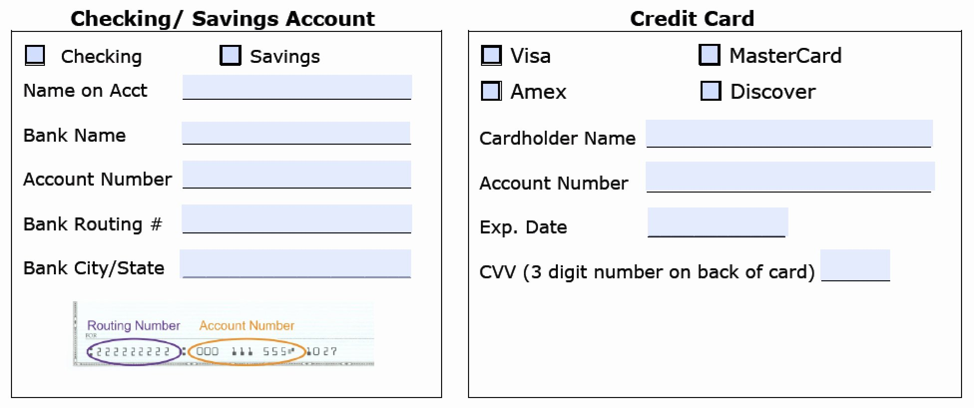 Free Online Payment form Unique Download Recurring Payment Authorization form Template
