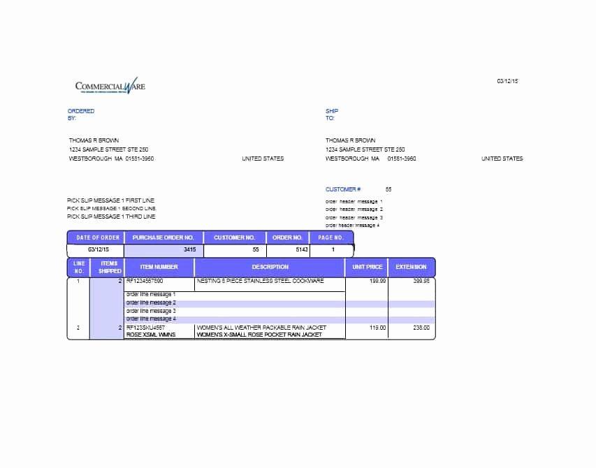 Free Packing Slip Template Elegant 30 Free Packing Slip Templates Word Excel Template