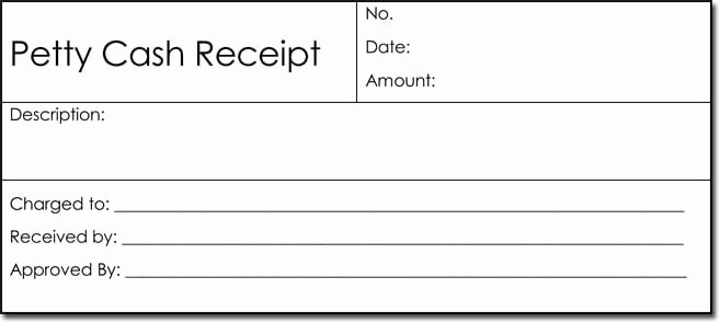 Free Petty Cash Template New Petty Cash Receipt Templates 6 formats for Word