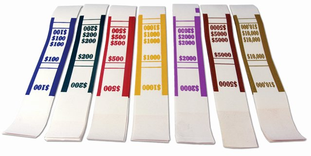 Free Printable Money Bands Beautiful Wel E to Vault Currency Straps