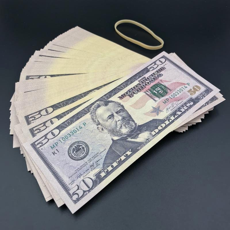 Free Printable Money Bands Elegant $5 000 Full Print Fat Band $5k New Style Fake Prop Money