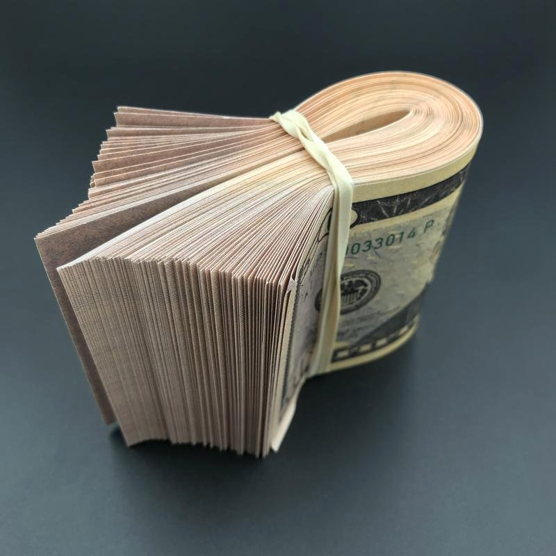 Free Printable Money Bands Inspirational $5 000 Full Print Fat Band $5k New Style Fake Prop Money