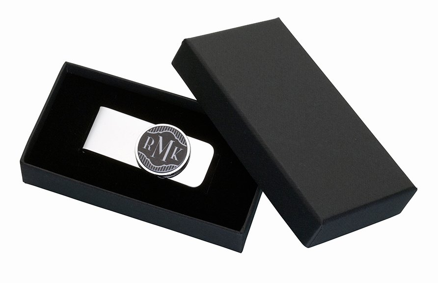 Free Printable Money Bands Luxury Personalized Black Band Money Clip