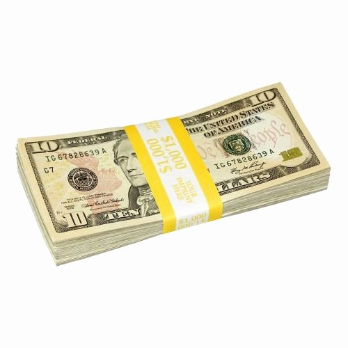 Free Printable Money Bands New Currency Straps solid Color Bar